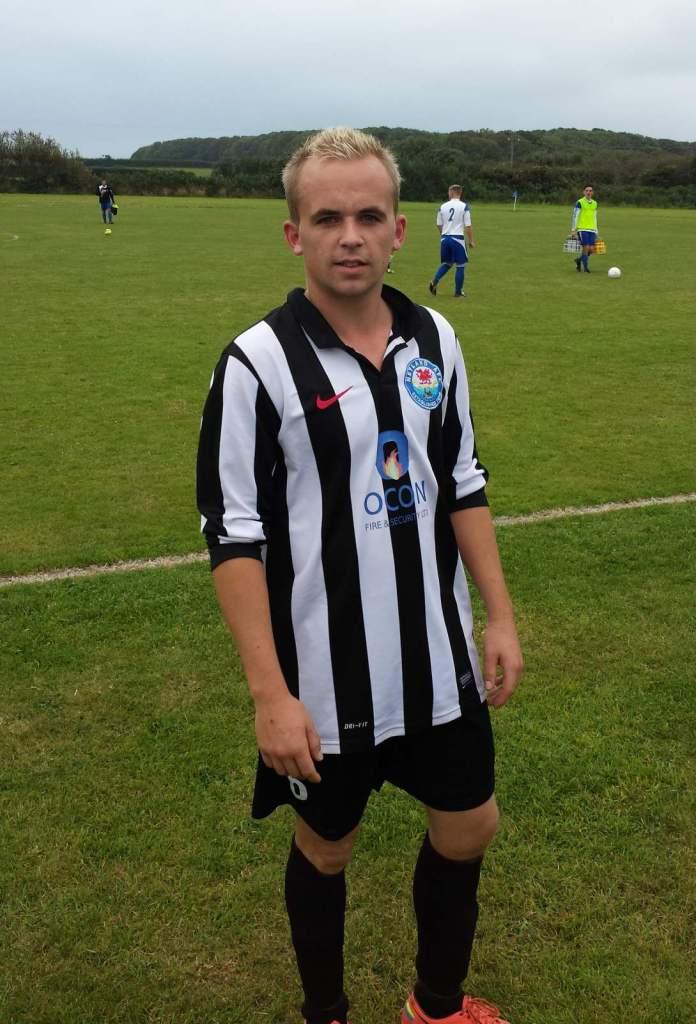 Goal scorer Gary Power