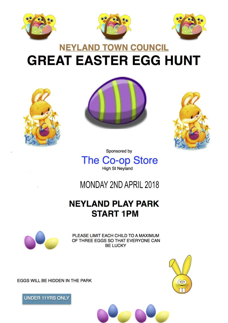 Great Easter Egg Hunt @ Neyland Play Park