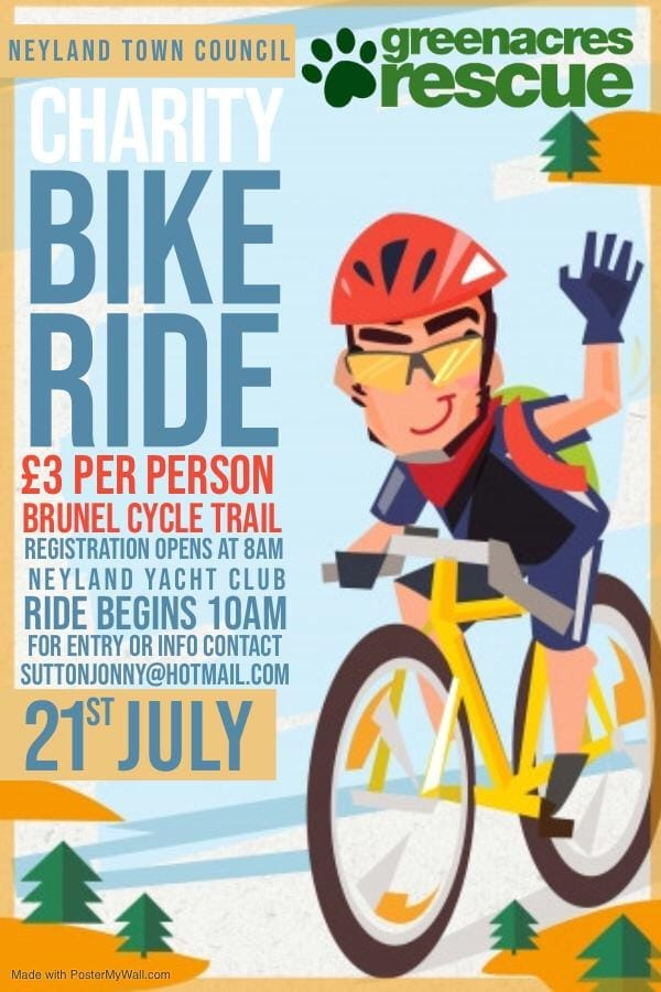 Charity Bike Ride @ Neyland Yacht Club